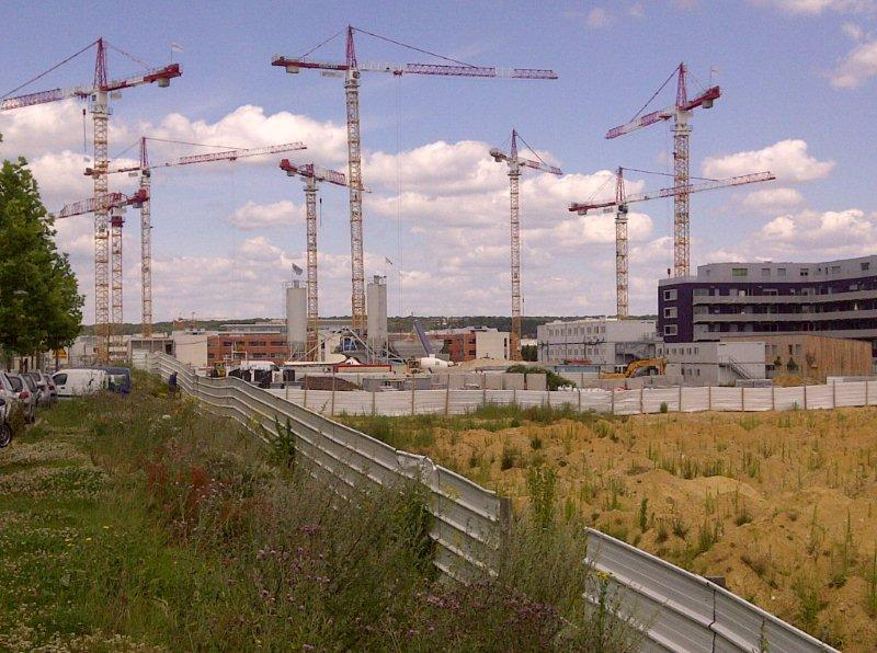 Grues Carrefour Massy